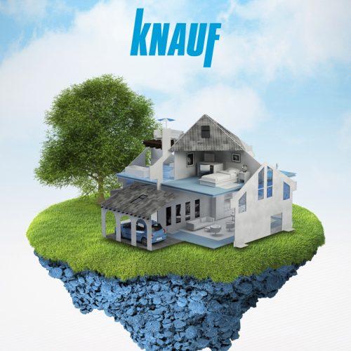 """KNAUF Blue System: """"Nuestro azul es tu marca verde"""""""